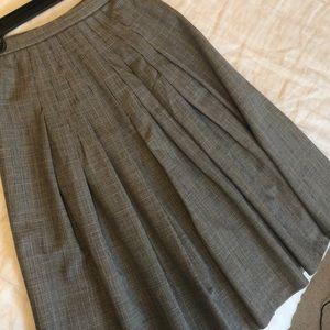 Vintage pleated skirt.